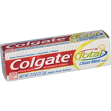 Colgate Total® Toothpaste, 3/4 oz, 24/Pack