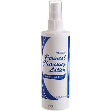 Medline Perineal Cleansing Lotions, 8 oz, Spray Bottle, 48/Pack