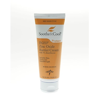 Soothe & Cool INZO® Zinc Oxide Barrier Creams
