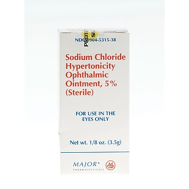Generic OTC Ophthalmic Ointments, 1/8mL