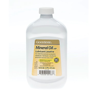 Generic OTC Mineral Oil, 16 oz, Liquid