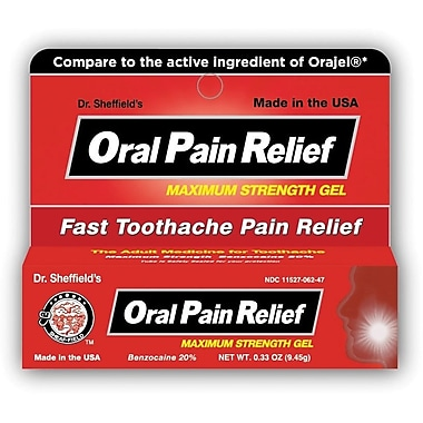 Benzocaine Oral Pain Relief Gel
