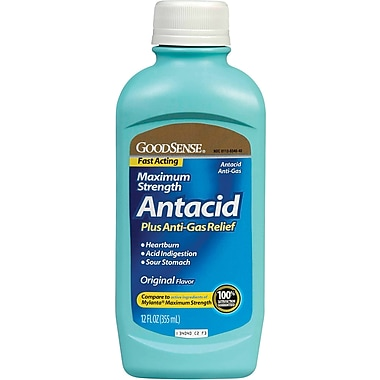 Antacid Maximum Strength Liquids, 12 oz