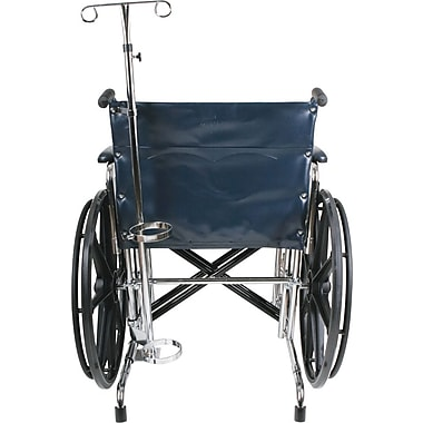 Medline Wheelchair Oxygen Tank Holder, Bariatric, Universal Wheelchair Compatible