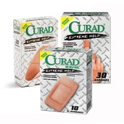 "Curad® Extreme Hold Bandages, Brown, XL Size, 3 3/4"" L x 2"" W, 10 Bandages/Box, 24 Boxes/Case"