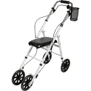 Medline Basic Knee Walker, White, Each