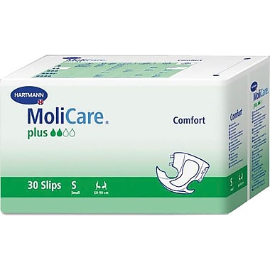 Molicare® Comfort Plus Adult Super Extended Capacity Brief, Dark Purple, Small, 30/Bag