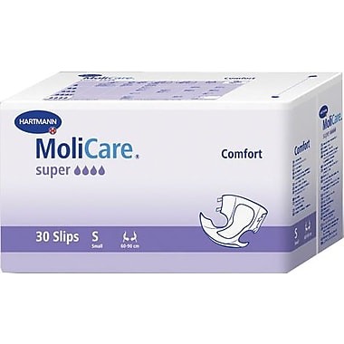 Molicare® Adult Comfort New Super Extended Capacity Brief, Dark Purple, Small, 90/Pack