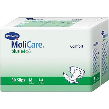 Molicare® Comfort Plus Adult Super Extended Capacity Brief, Dark Purple, Large/XL, 90/Pack