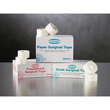 Caring® Transparent Adhesive Tapes