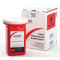 Sharps Compliance Sharps Disposal by Mail System, 1 gal.