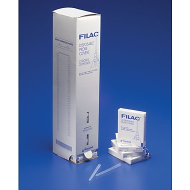 Filac™ F-1500 and F-2000 Thermometers Probe Covers, Latex-free, 500/Box