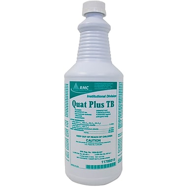 Plus TB Quaternary Disinfectants, 32 oz, 12/Case