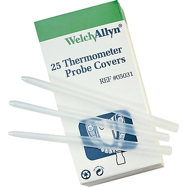 Welch-Allyn Thermometer Probe Covers for 600/650/670/675/678/67, Latex-free, 250/Pack