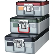 Steriset® Surgical Instrument Sterilization Containers with Flat Bottoms