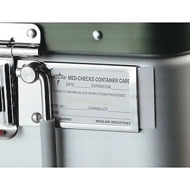 Medline Surgical Instrument Sterilization Process Indicators Cards, 1000/Box