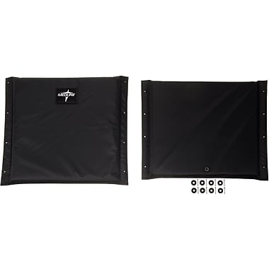 Medline Wheelchair Upholstery Set, Bariatric, Extra Wide Wheelchair Compatible