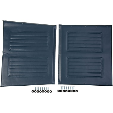 Medline Wheelchair Upholstery Set, Non Bariatric, Navy Extra Wide Wheelchair Compatible
