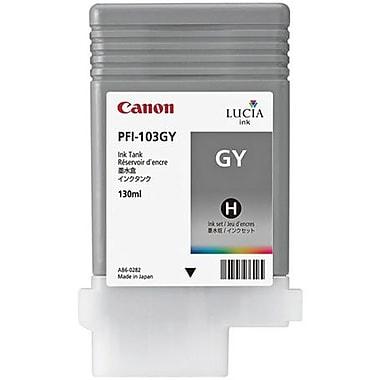 Canon PFI-103GY Gray Ink Cartridge (2213B001AA)