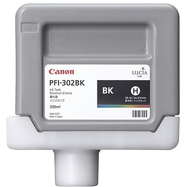 Canon PFI-302 Black Ink Cartridge (2216B001AA)