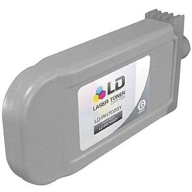 Canon PFI-702GY Gray Ink Cartridge (2221B001AA), High Yield