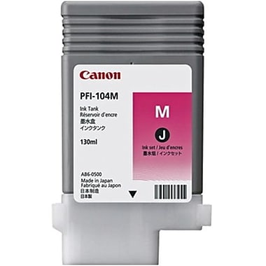 Canon PFI-104 Magenta Ink Cartridge (3631B001AA)