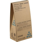 Ricoh Cyan Toner Cartridge (841336), High Yield