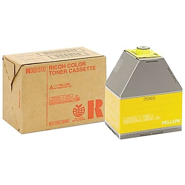 Ricoh Yellow Toner Cartridge (888341), High Yield