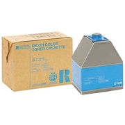 Ricoh Cyan Toner Cartridge (888343), High Yield