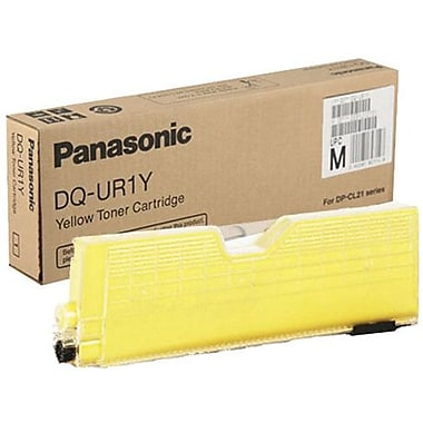 Panasonic Yellow Toner Cartridge (DQ-UR1Y), High Yield