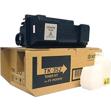 Kyocera Mita Black Toner Cartridge (TK-352), High Yield