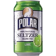 Polar® Lime Seltzer, 12 oz. Cans, 24/Pack