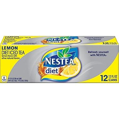 Nestea® Iced Tea, Diet Lemon, 12 oz. Cans, 24/Pack