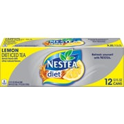 NESTEA® Iced Tea, Diet Lemon 12-ounce cans (Total of 24)