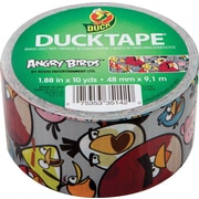 Duck Tape® Brand Duct Tape, Angry Birds, 1.88x 10 Yards