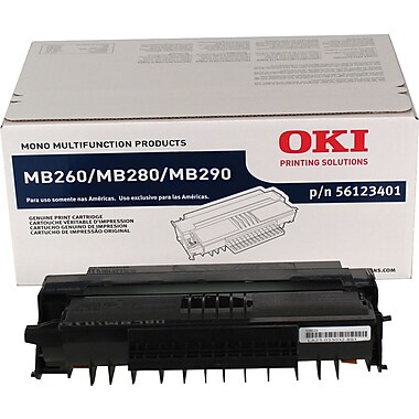 OKI 56123401 Black Toner Cartridge