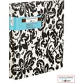 Martha Stewart Home Office™ With Avery™ Everyday Patterned Binder, 1in. Slant Rings, Black