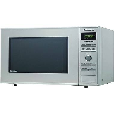 Panasonic .8 CU. FT. Countertop Microwave Oven, Stainless Steel
