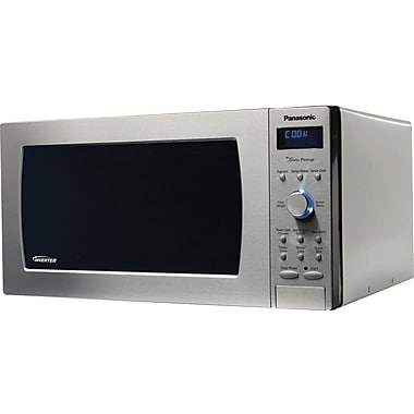 Panasonic 2.2 CU. FT. Full-Size Microwave, Stainless Steel