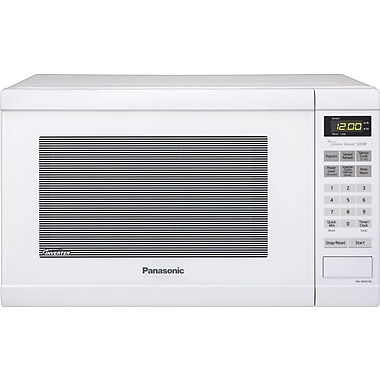 Panasonic 1.2 CU. FT. Countertop Microwave Oven, White