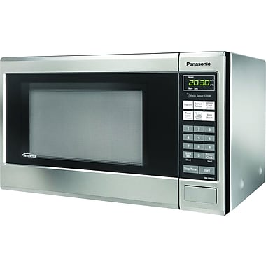 Panasonic 1.2 CU. FT. Countertop Microwave Oven, Stainless Steel