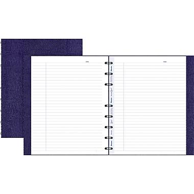 Blueline® - Cahier MiracleBind à couverture rigide, 9-1/4 po x 7-1/4 po, mauve genre lézard, 150 pages