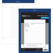 "TOPS FocusNotes™ Legal Pad, 8-1/2"" x 11-3/4"", Perforated, White, 50 Sheets per Pad"