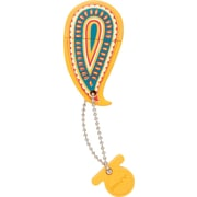 PNY Paisley 8GB USB 2.0 USB Flash Drive Yellow