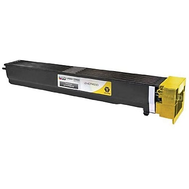 Konica Minolta TN-613Y Yellow Toner Cartridge (A0TM230), High Yield