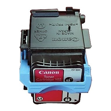 Canon CRG102M Magenta Toner Cartridge (9643A006AA), High Yield