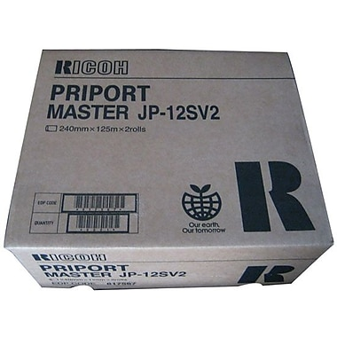 Ricoh Black Master Roll (817567)