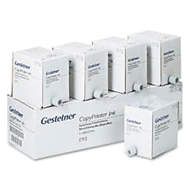 Gestetner Black Ink Cartridge (2420031), 5/Pack