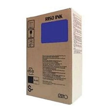 Risograph Blue Ink Cartridge (S-4261), 2/Pack