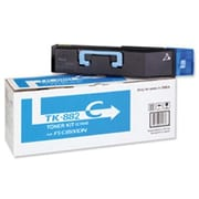 Kyocera Mita TK-882C Cyan Toner Cartridge (1T02KACUS0), High Yield